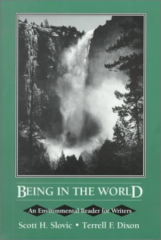 9780024117618: Being in the World: An Environmental Reader for Writers