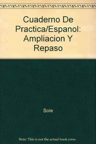 9780024132802: Cuaderno De Practica/Espanol: Ampliacion Y Repaso