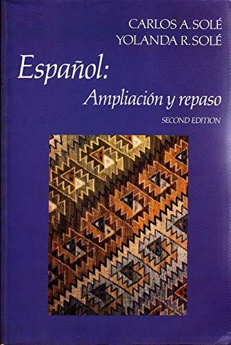 9780024133403: Espanol, ampliacion y repaso (Scribner Spanish series)