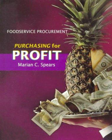 9780024142412: Foodservice Procurement: Purchasing for Profit