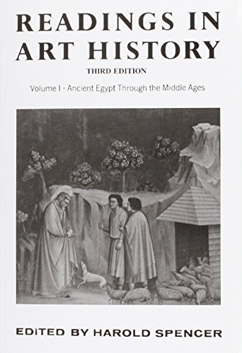 9780024143808: Readings in Art History, Volume 1: Ancient Egypt Through the Middle Ages: 001
