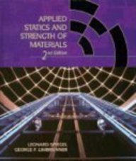 9780024149619: Applied Statics and Strength of Materials (Merrill's International Series in Engineering Technology)