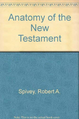 9780024153005: Anatomy of the New Testament