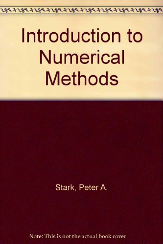 9780024160706: Introduction to Numerical Methods