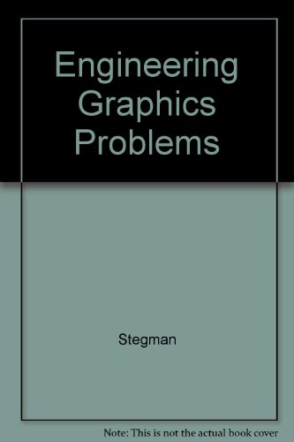 9780024163103: Engineering Graphics Problems