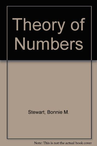 9780024172006: Theory of Numbers