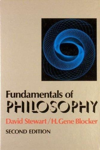 9780024173102: Fundamentals of Philosophy