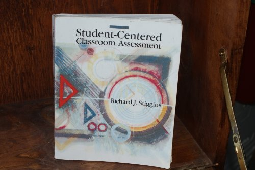 9780024173508: Student Centered Classroom Assessment