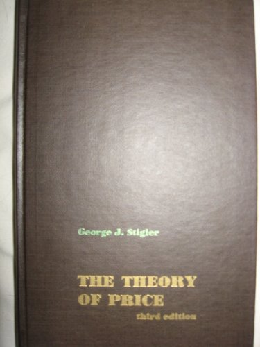 9780024173805: Theory of Price