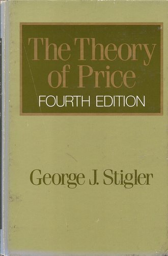 9780024174000: The Theory of Price
