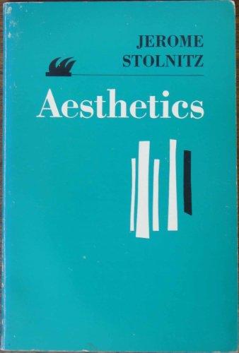 Aesthetics: Stolnitz, Jerome [Editor]