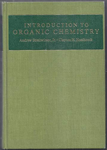 9780024180100: Introduction to Organic Chemistry (A series of books in organic chemistry)