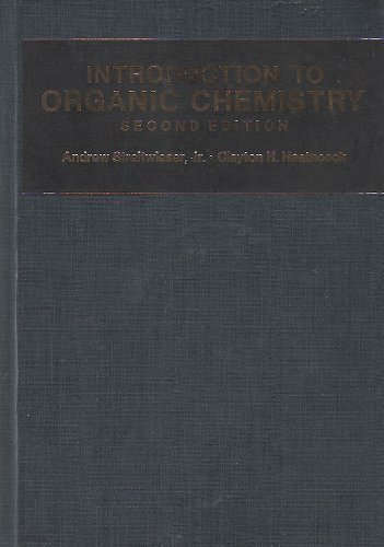 9780024180506: Introduction to Organic Chemistry