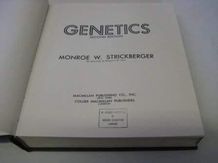 9780024180902: Genetics