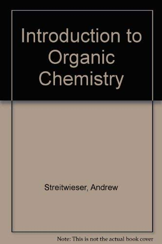 9780024181404: Introduction to Organic Chemistry