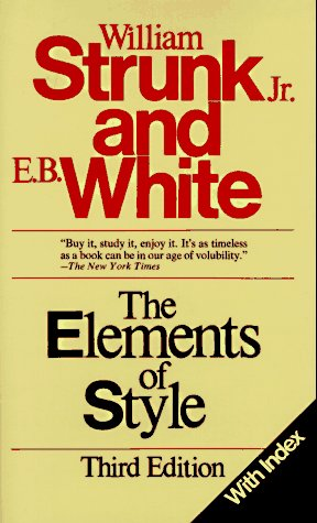 9780024181909: The Elements of Style, Third Edition