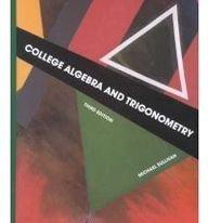 9780024183057: College Algebra and Trigonometry (Precalculus Series)