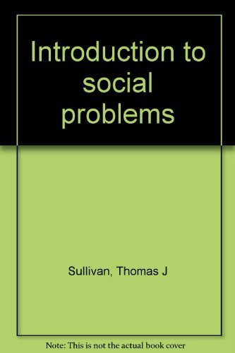 9780024183668: Introduction to social problems