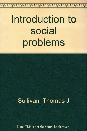 9780024184818: Introduction to social problems