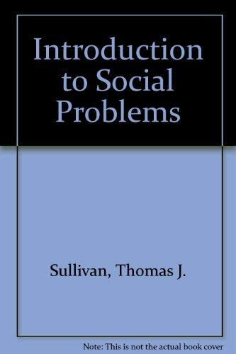 9780024184856: Introduction to Social Problems