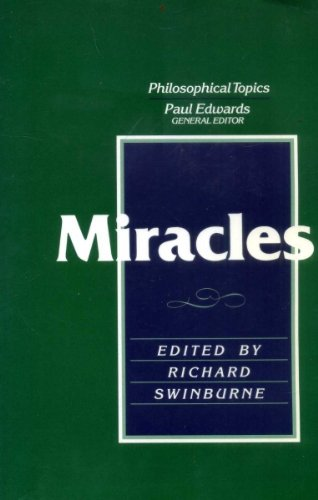 9780024187314: Miracles (Philosophical topics)