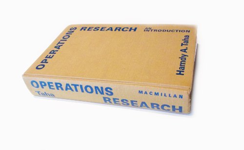 Operations Research: An Introduction - Third (3rd) Edition: Taha, Hamdy A.