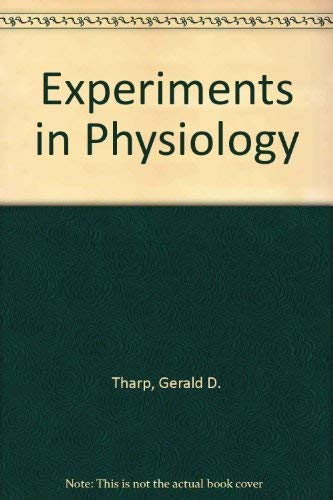 9780024198532: Experiments in Physiology