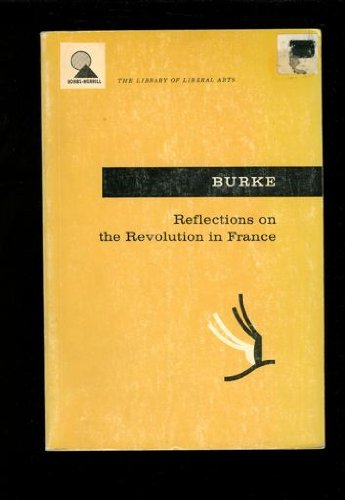 9780024201904: Reflections on the Revolution in France