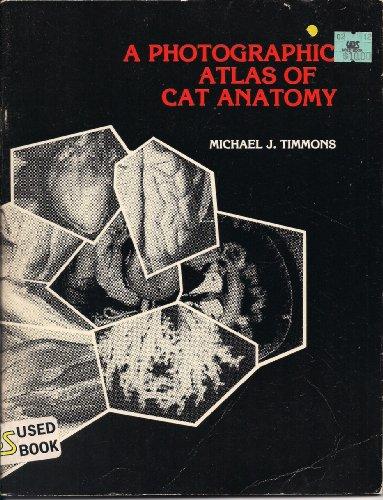 9780024208415: Photographic Atlas of Cat Anatomy
