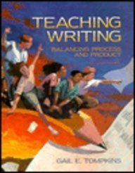 9780024208439: Teaching Writing: Balancing Process and Product