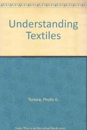 9780024208705: Understanding Textiles