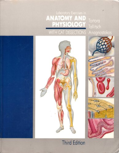 9780024212016: Laboratory Exercises in Anatomy and Physiology With Cat Dissections