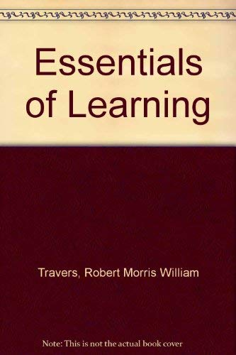 9780024213006: Essentials of Learning
