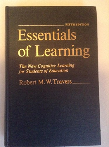 9780024213907: Essentials of Learning