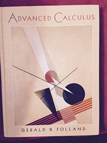 9780024214119: Advanced Calculus