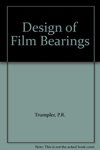 9780024215208: Design of Film Bearings
