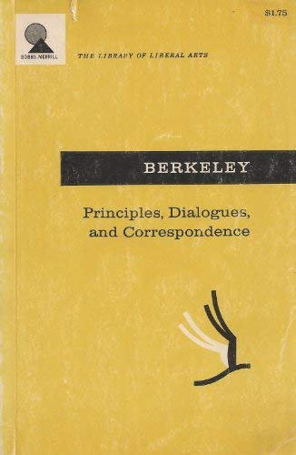 9780024216007: Principles, Dialogues, and Philosophical Correspondence