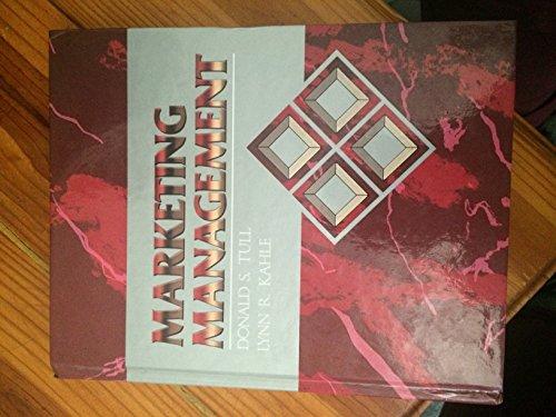 9780024217004: Marketing Management (The Macmillan series in marketing)