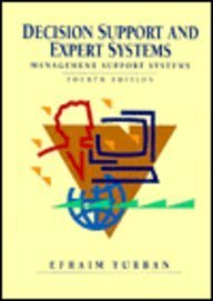 9780024217011: Decision Support and Expert Systems 4ED