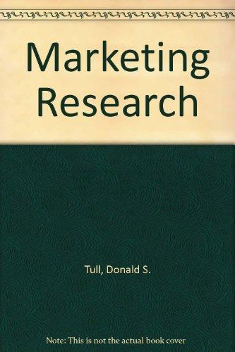 Marketing Research : Measurement and Method: A: Delbert I. Hawkins;