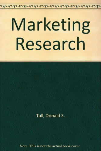 9780024219329: Marketing Research