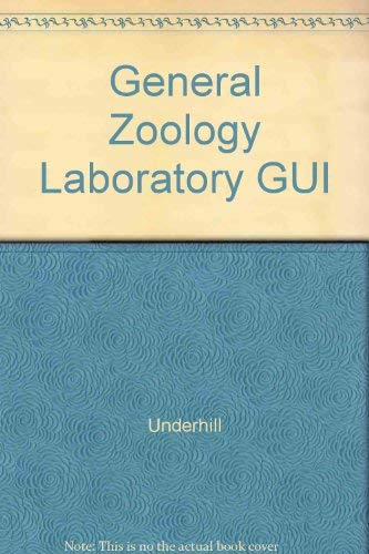 9780024221100: General Zoology Laboratory GUI