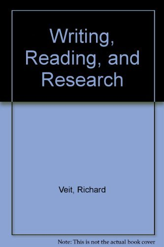 9780024229212: Writing, Reading, and Research