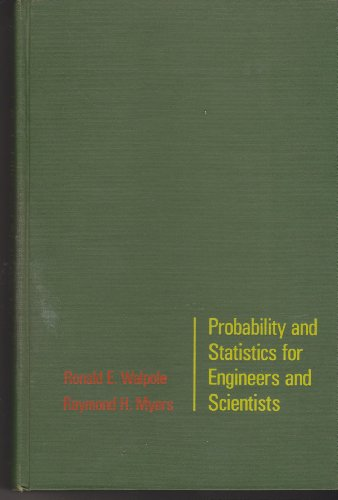 9780024240705: Probability and Statistics for Engineers and Scientists
