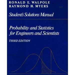 Student's solutions supplement to accompany Probability and statistics for engineers and ...