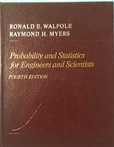 9780024242105: Probability and Statistics for Engineers and Scientists