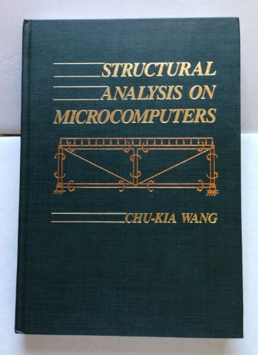 9780024245007: Structural Analysis on Microcomputers