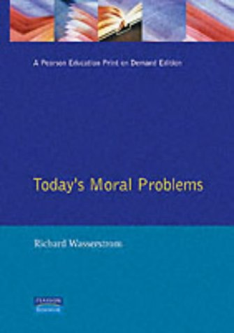 9780024248404: Todays Moral Problems (3rd Edition)