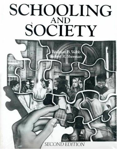 9780024249005: Schooling and Society (2nd Edition)