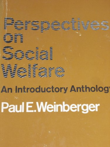 9780024251510: Perspectives on social welfare: An introductory anthology